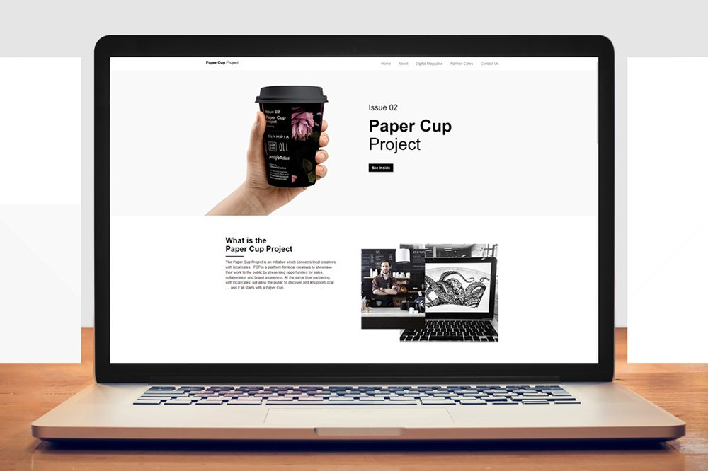 Paper Cup  Project – advanced WordPress application