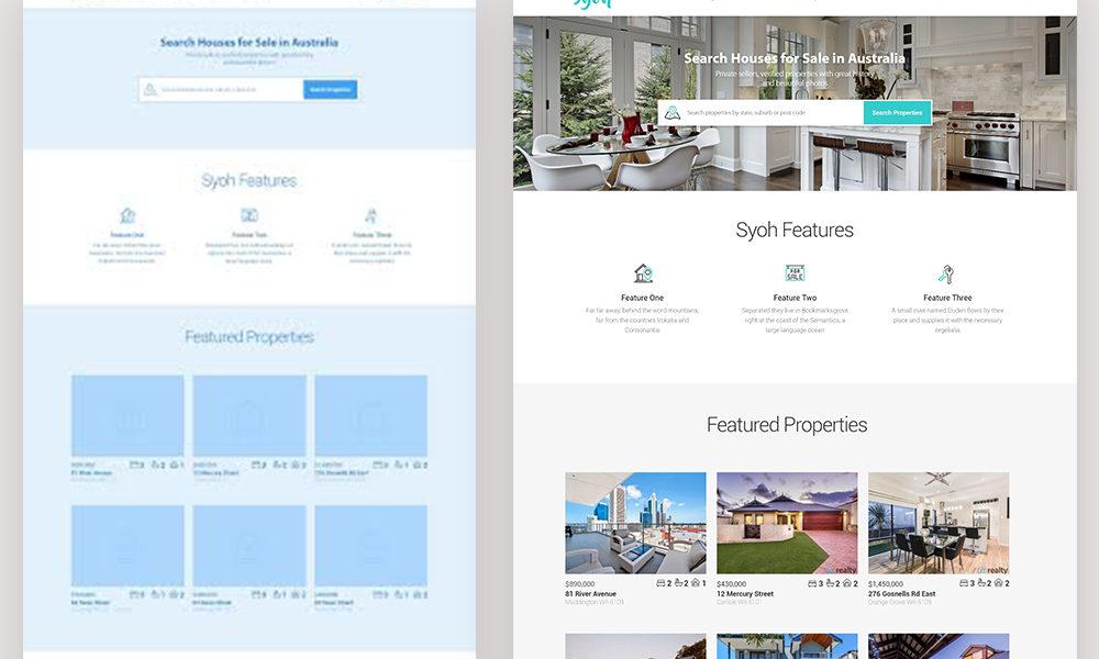 Syoh – UX/UI Design & Front End Development