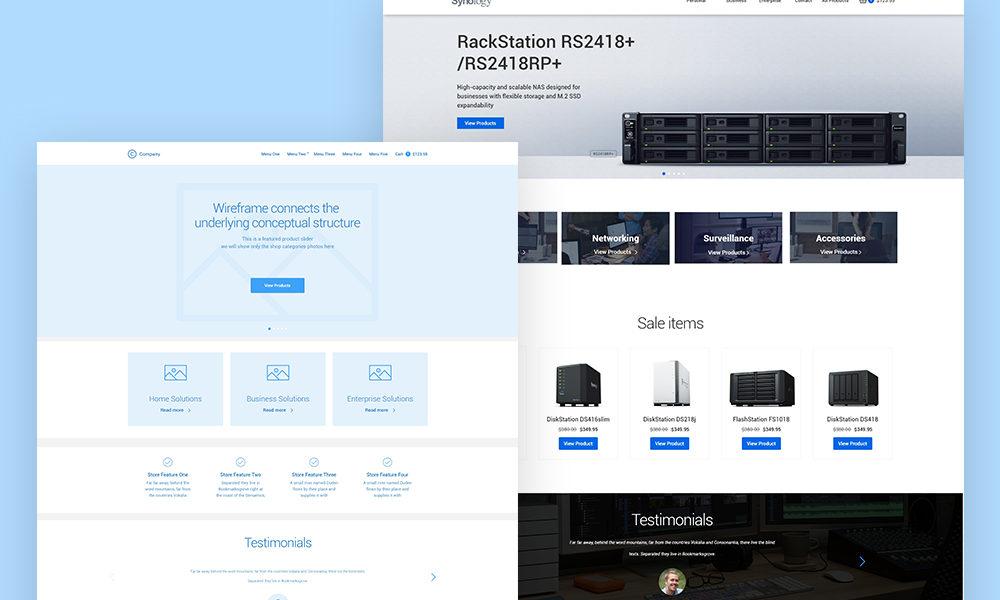 eCommerce UX UI Design and WordPress Implementation
